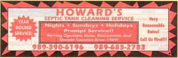 howard's septic