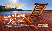 long lake resort logo